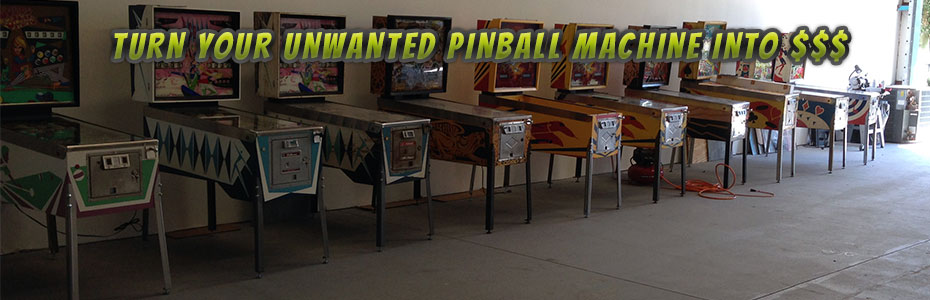 I Buy Used Pinball Machines