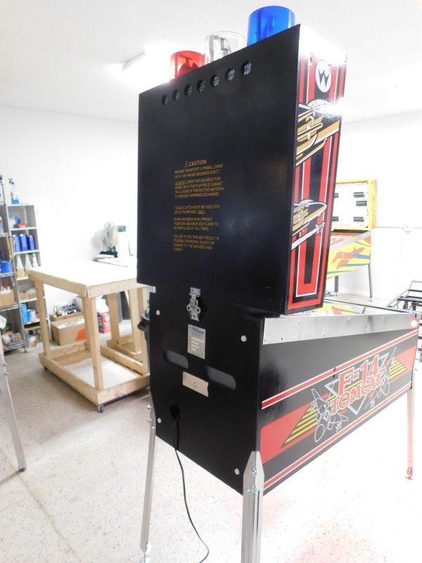 Pinball Restorations, Williams F-14 Tomcat
