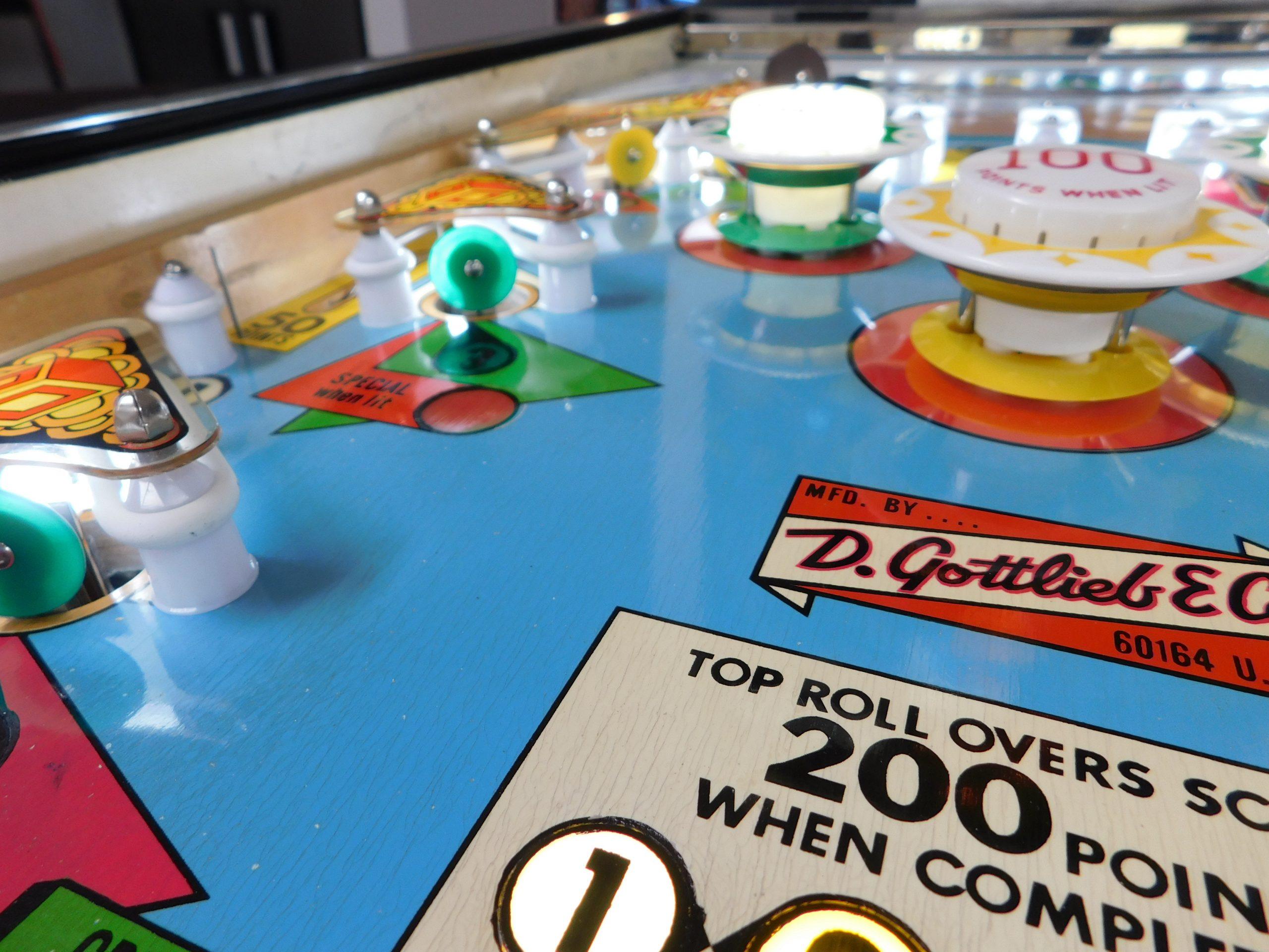 Pinball Restorations, Gottlieb 4 Square