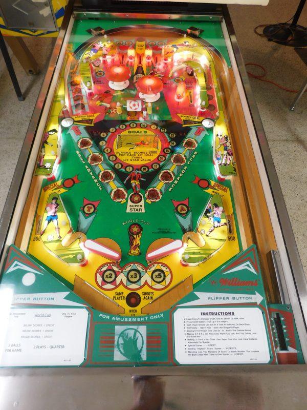 Pinball Restorations, Williams World Cup