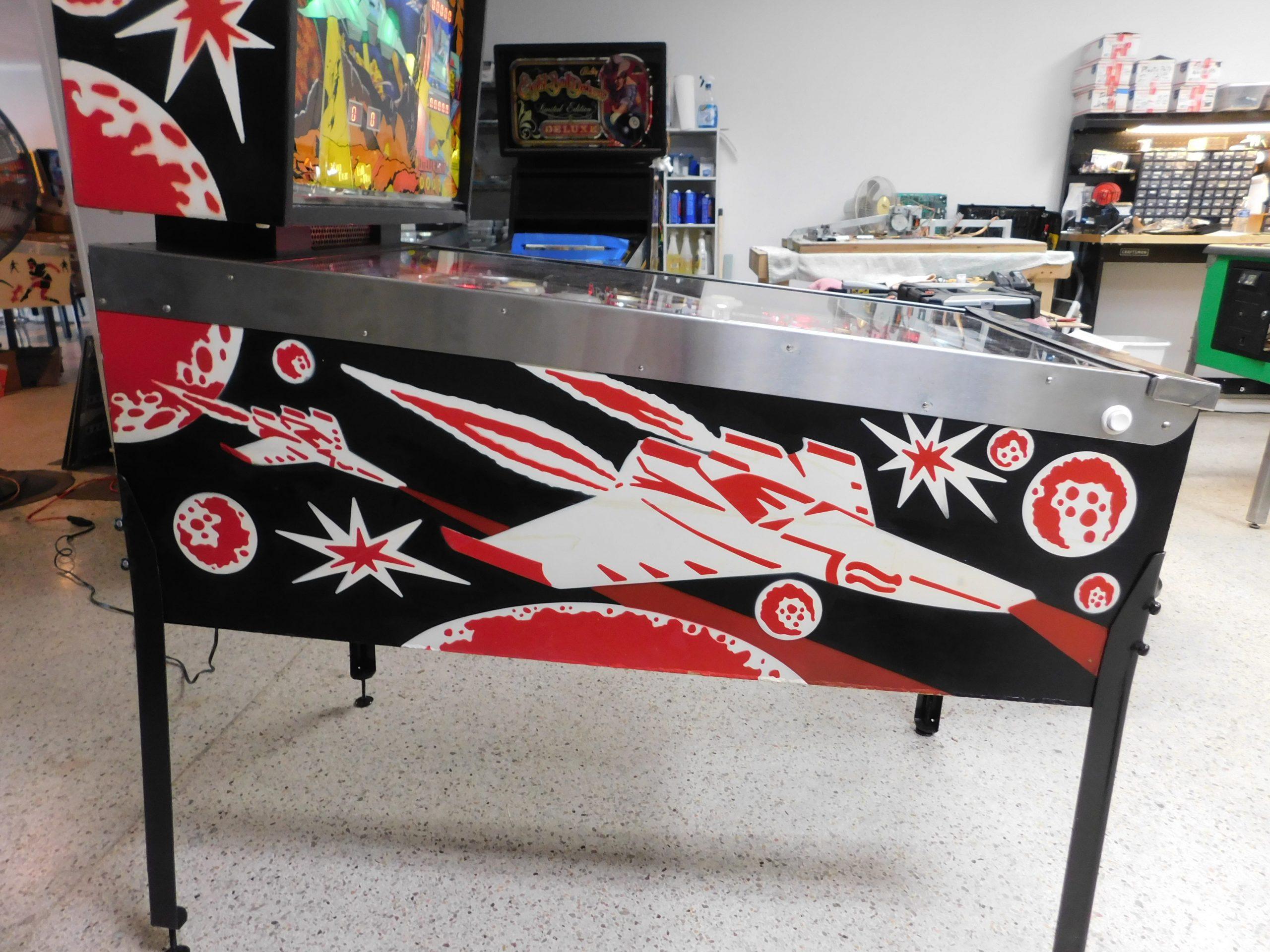 Pinball Restorations, Williams Stellar Wars