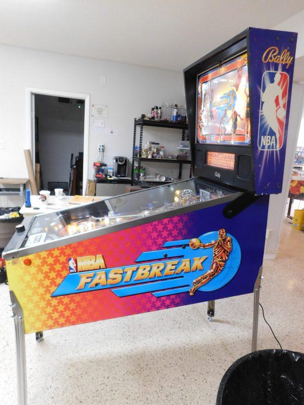 Pinball Restorations, Bally NBA Fastbreak