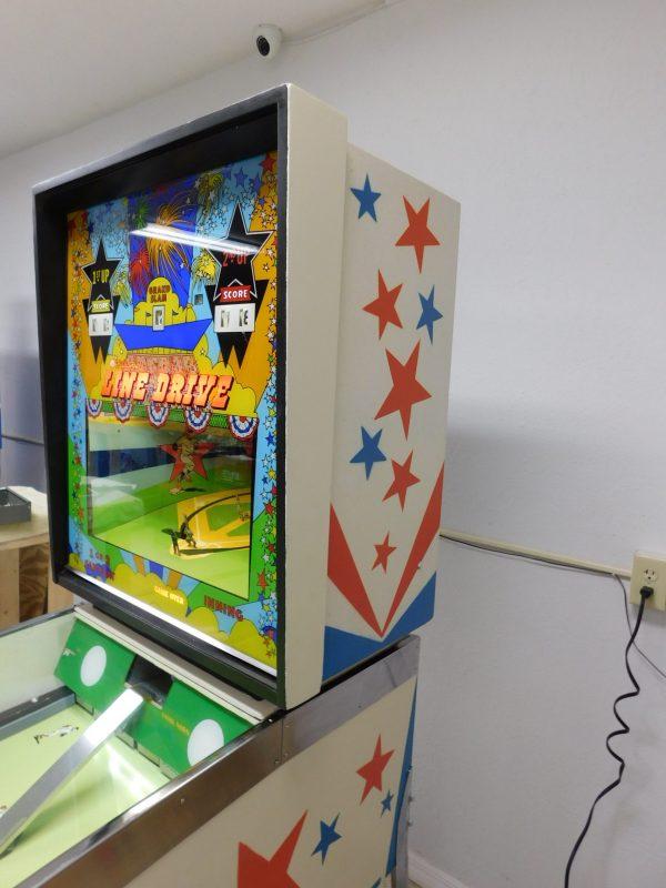Pinball Restorations, Williams Line Drive Pitch & Bat