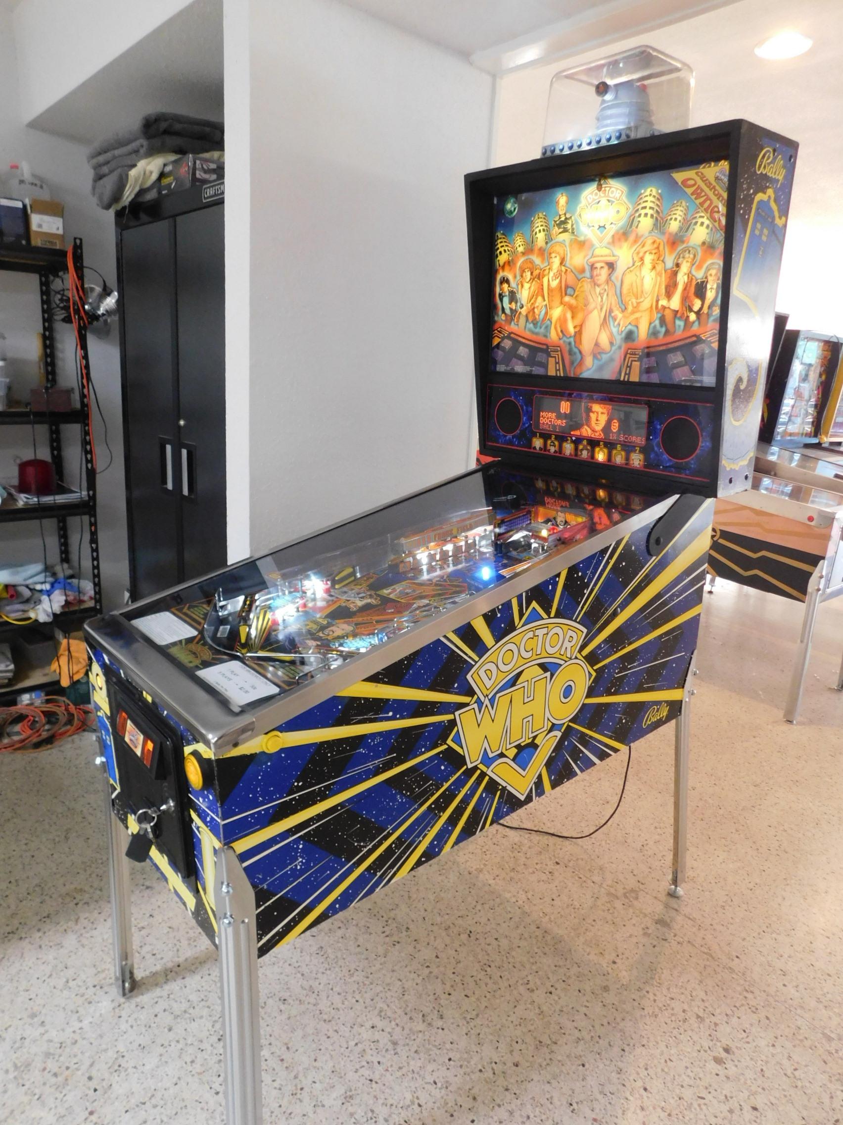 Pinball Restorations, Bally Doctor Who