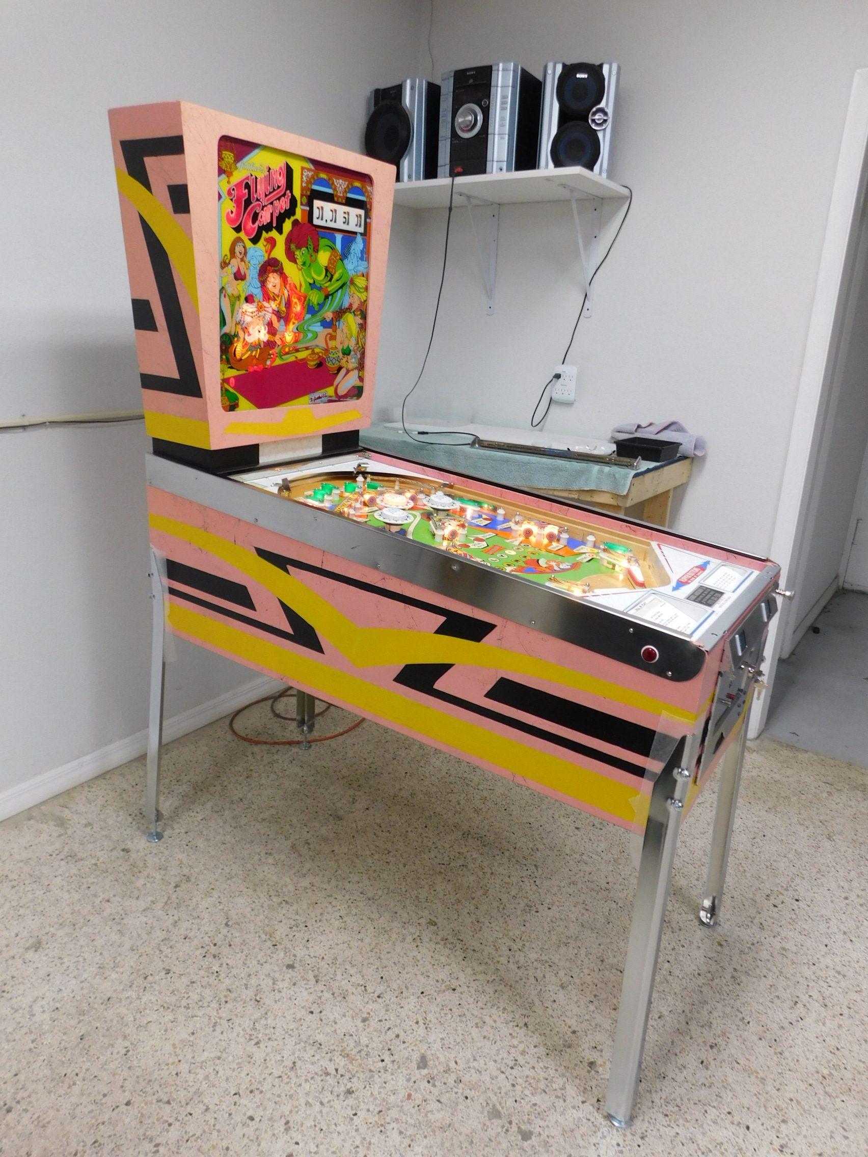 Pinball Restorations, Gottlieb Flying Carpet