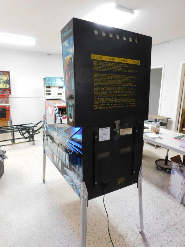 Pinball Restorations, Williams Demolition Man