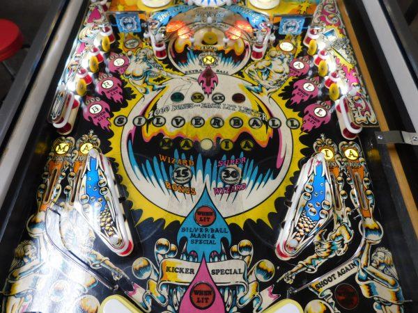 Pinball Restorations, Bally Silverball Mania