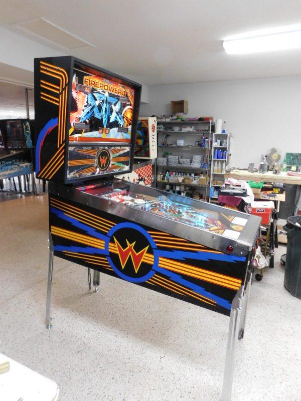Pinball Restorations, Williams Firepower II