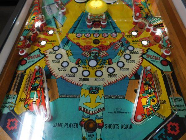 Pinball Restorations, Williams Aztec