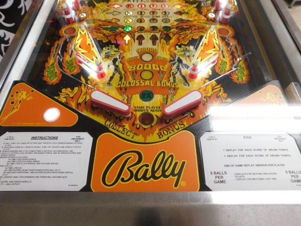 Pinball Restorations, Bally Kiss