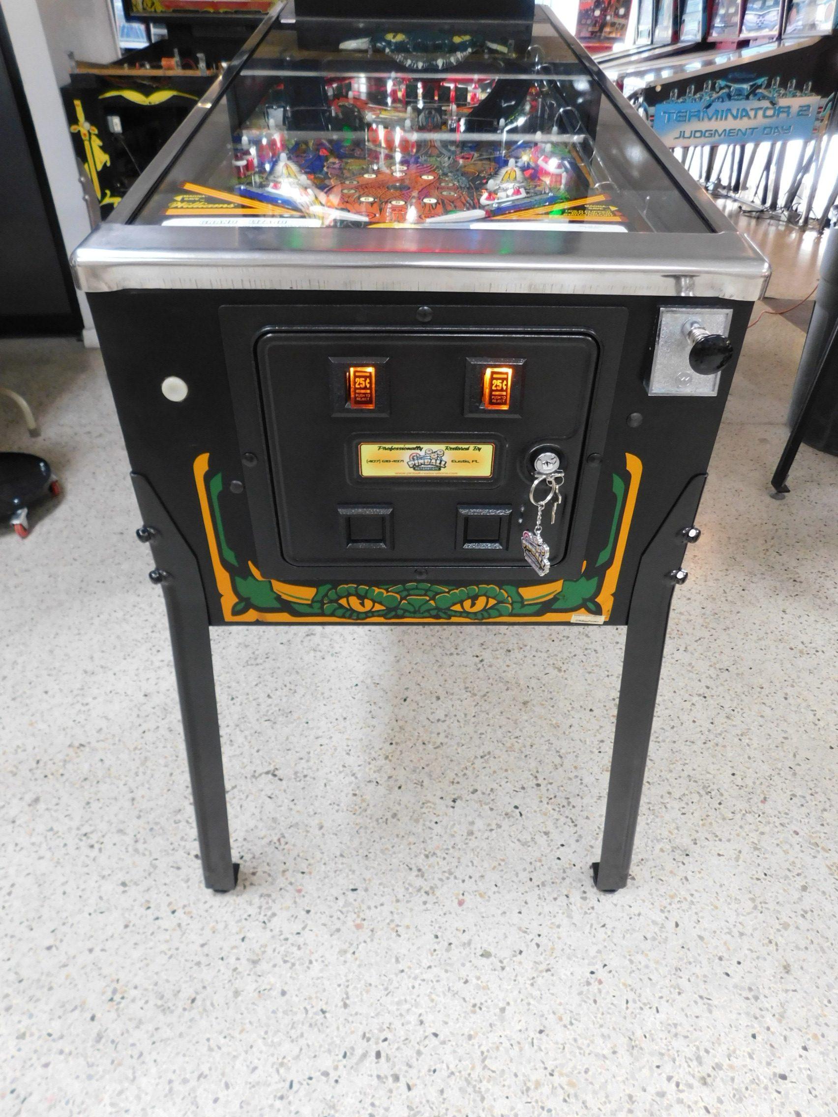 Pinball Restorations, Williams Grand Lizard
