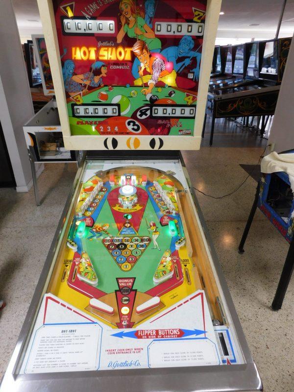 Pinball Restorations, Gottlieb Hot Shot