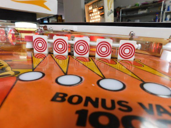 Pinball Restorations, Gottlieb Target Alpha