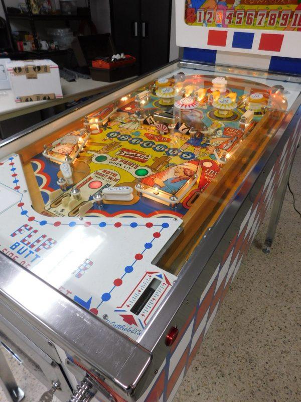 Pinball Restorations, Gottlieb Cow Poke