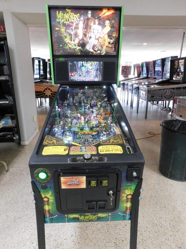 Pinball Restorations, Stern Munsters Pro