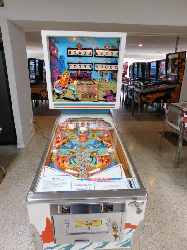 Pinball Restorations, Gottlieb Fast Draw