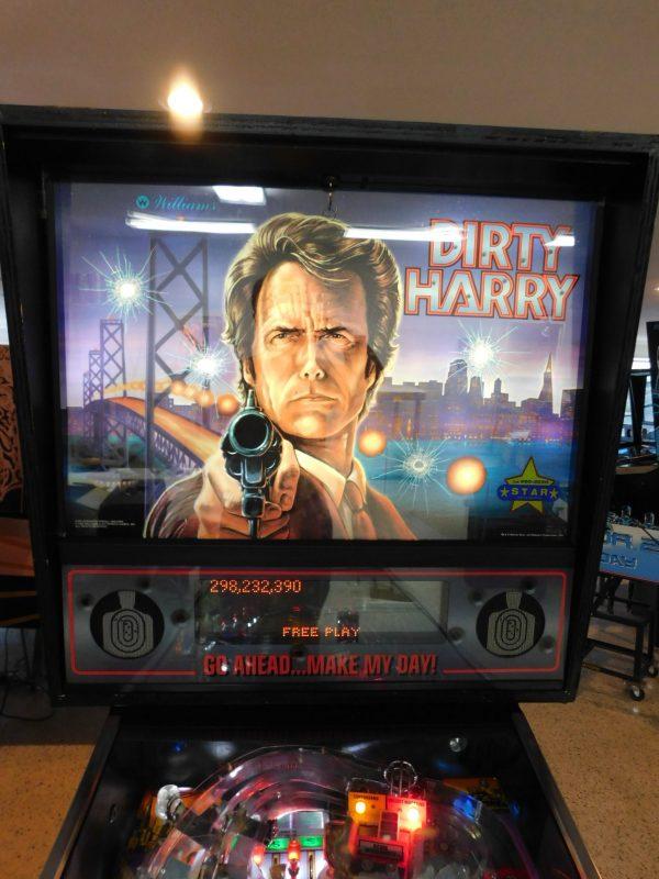 Pinball Restorations, Williams Dirty Harry