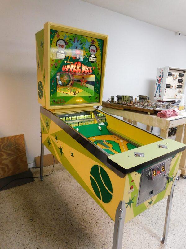 Pinball Restorations, Williams Upper Deck Baseball (Pitch & Bat)