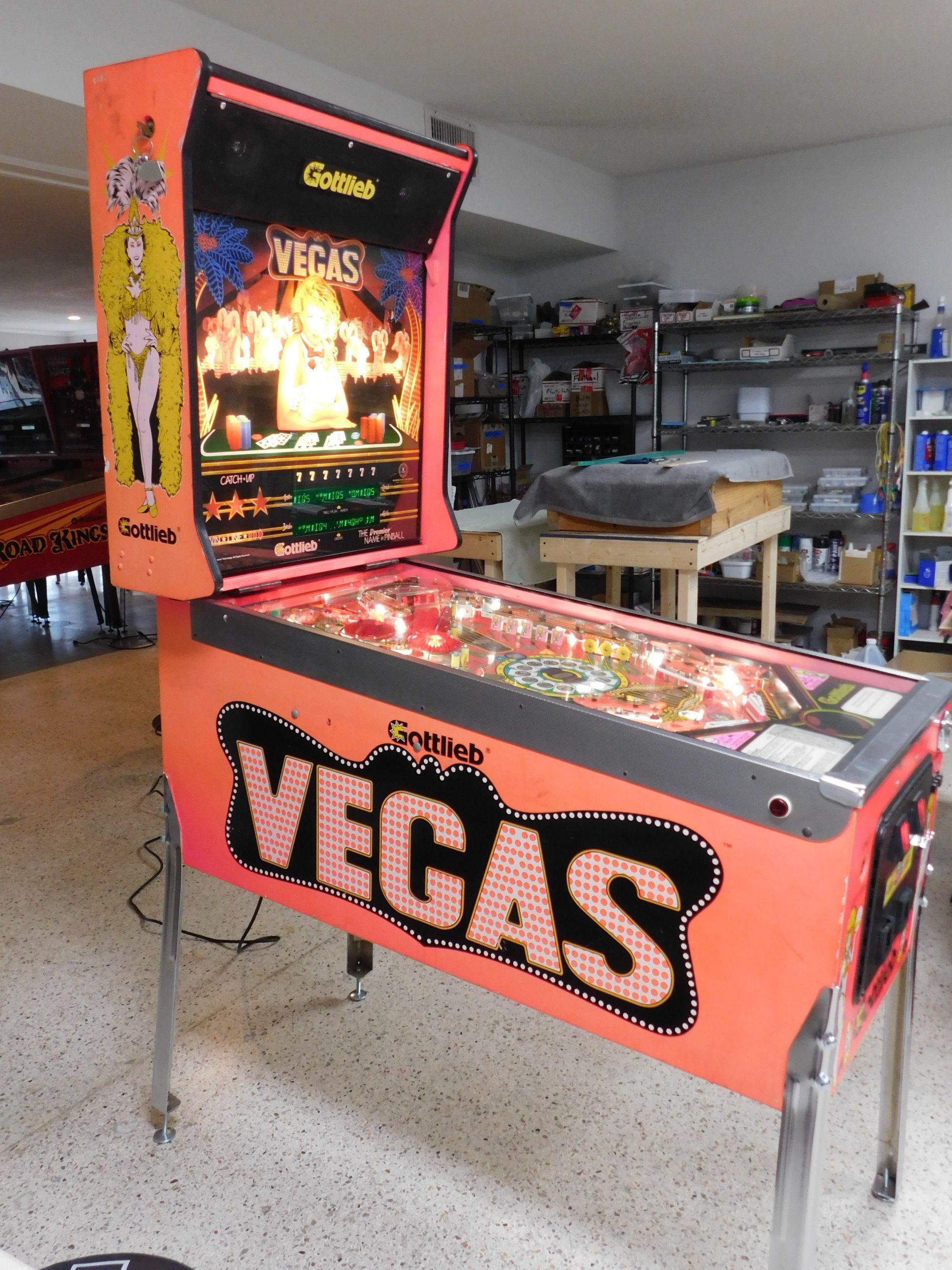 Pinball Restorations, Gottlieb Vegas
