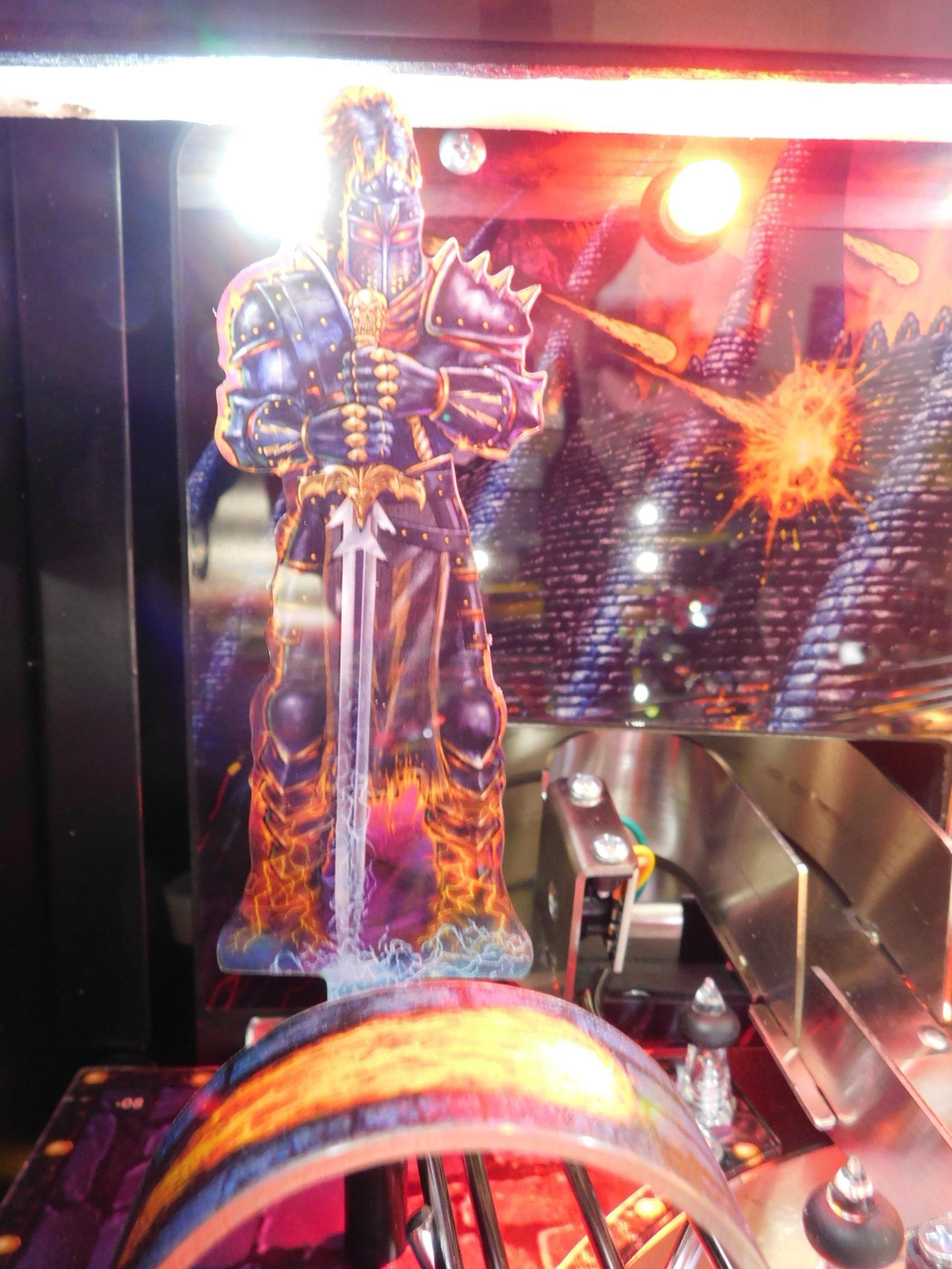 Pinball Restorations, Stern Black Knight Sword of Rage Pro