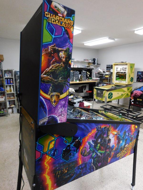 Pinball Restorations, Stern Guardians of the Galaxy Pro