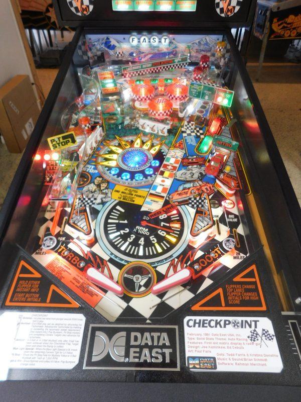 Pinball Restorations, Data East Checkpoint