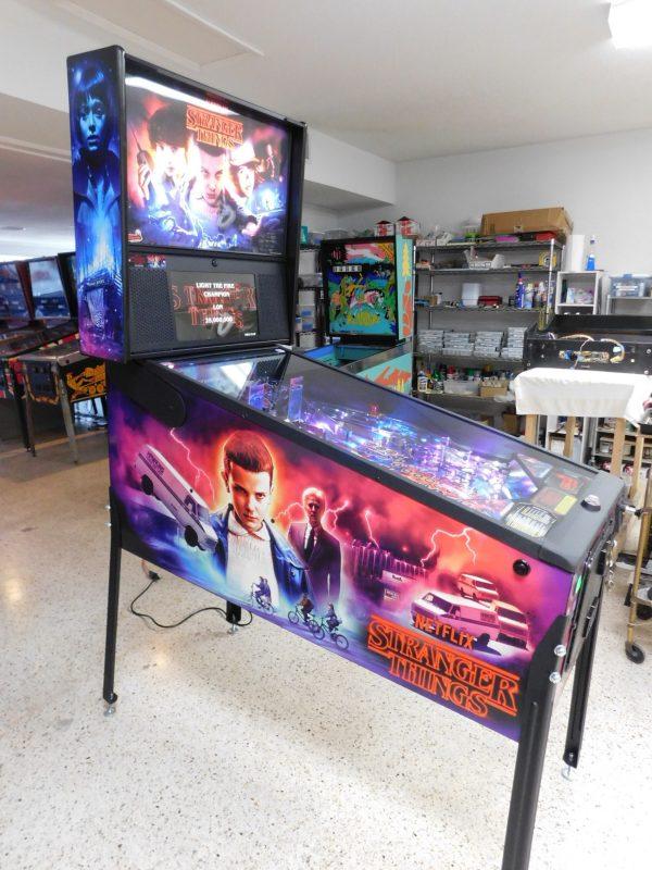 Pinball Restorations, Stern Stranger Things Pro