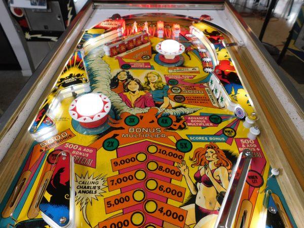 Pinball Restorations, Gottlieb Charlie's Angels