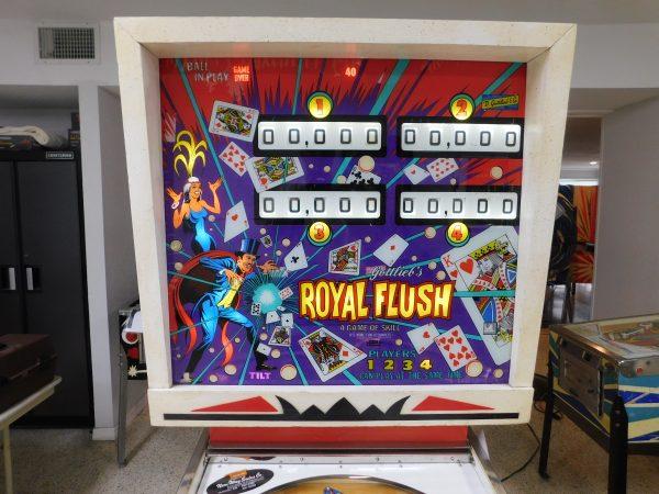 Pinball Restorations, Gottlieb Royal Flush