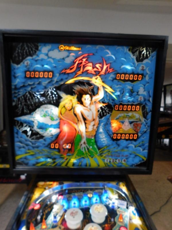 Pinball Restorations, Williams Flash
