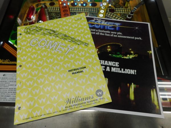 Pinball Restorations, Williams Comet