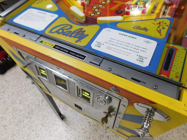 Pinball Restorations, Bally Supersonic