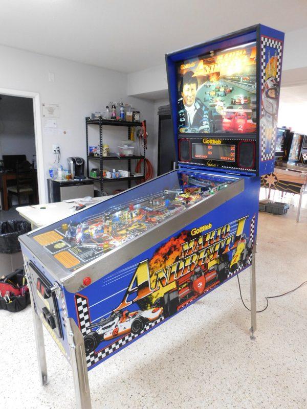 Pinball Restorations, Gottlieb Mario Andretti