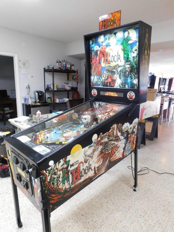 Pinball Restorations, Data East Hook