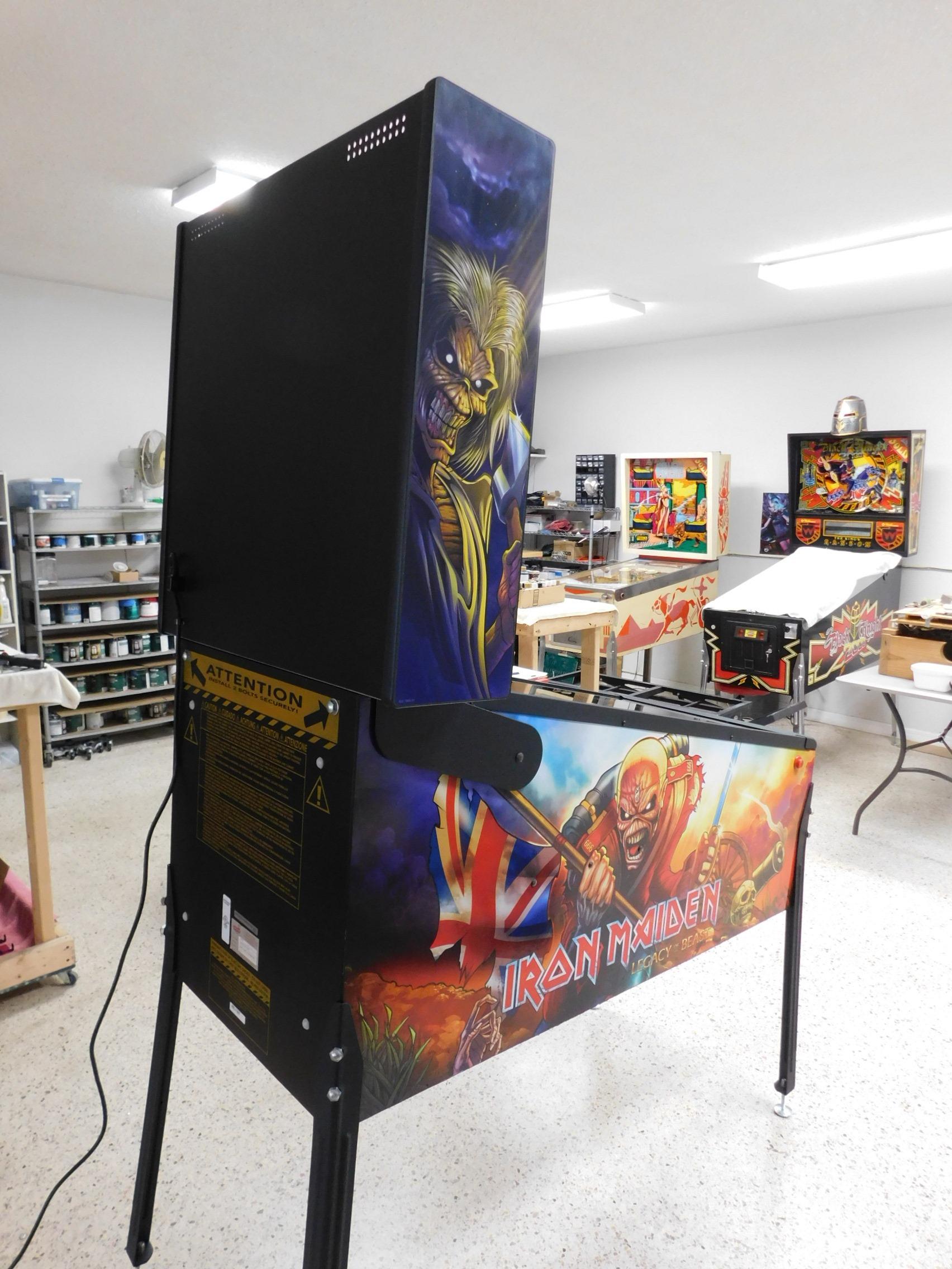 Pinball Restorations, Stern Iron Maiden Pro