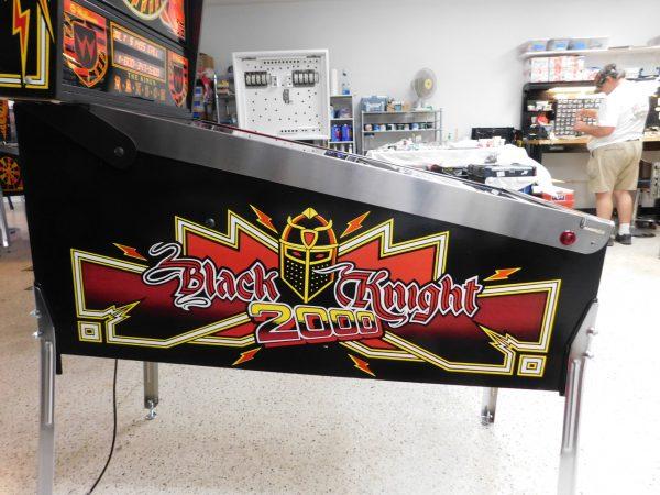 Pinball Restorations, Williams Black Knight 2000