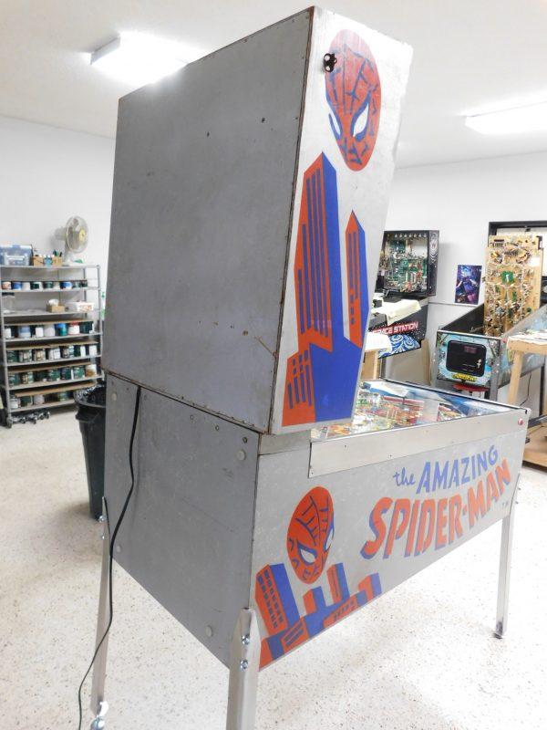 Pinball Restorations, Gottlieb The Amazing Spider-man