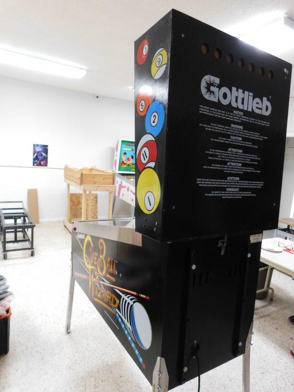 Pinball Restorations, Gottlieb Cue Ball Wizard
