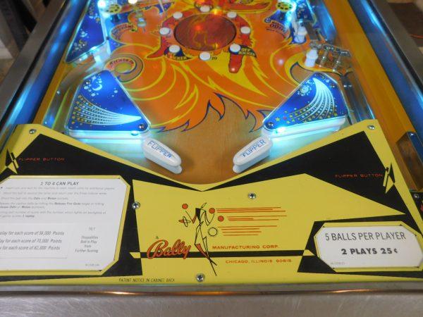 Pinball Restorations, Bally Fireball