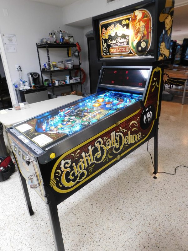 Pinball Restorations, Bally Eight Ball Deluxe Limited Edition