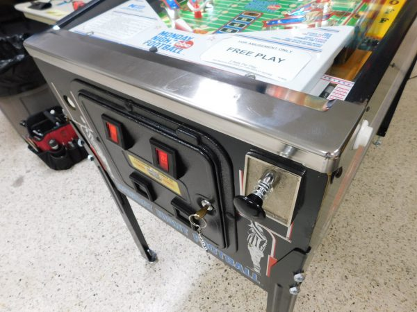 Pinball Restorations, Data East Monday Night Football