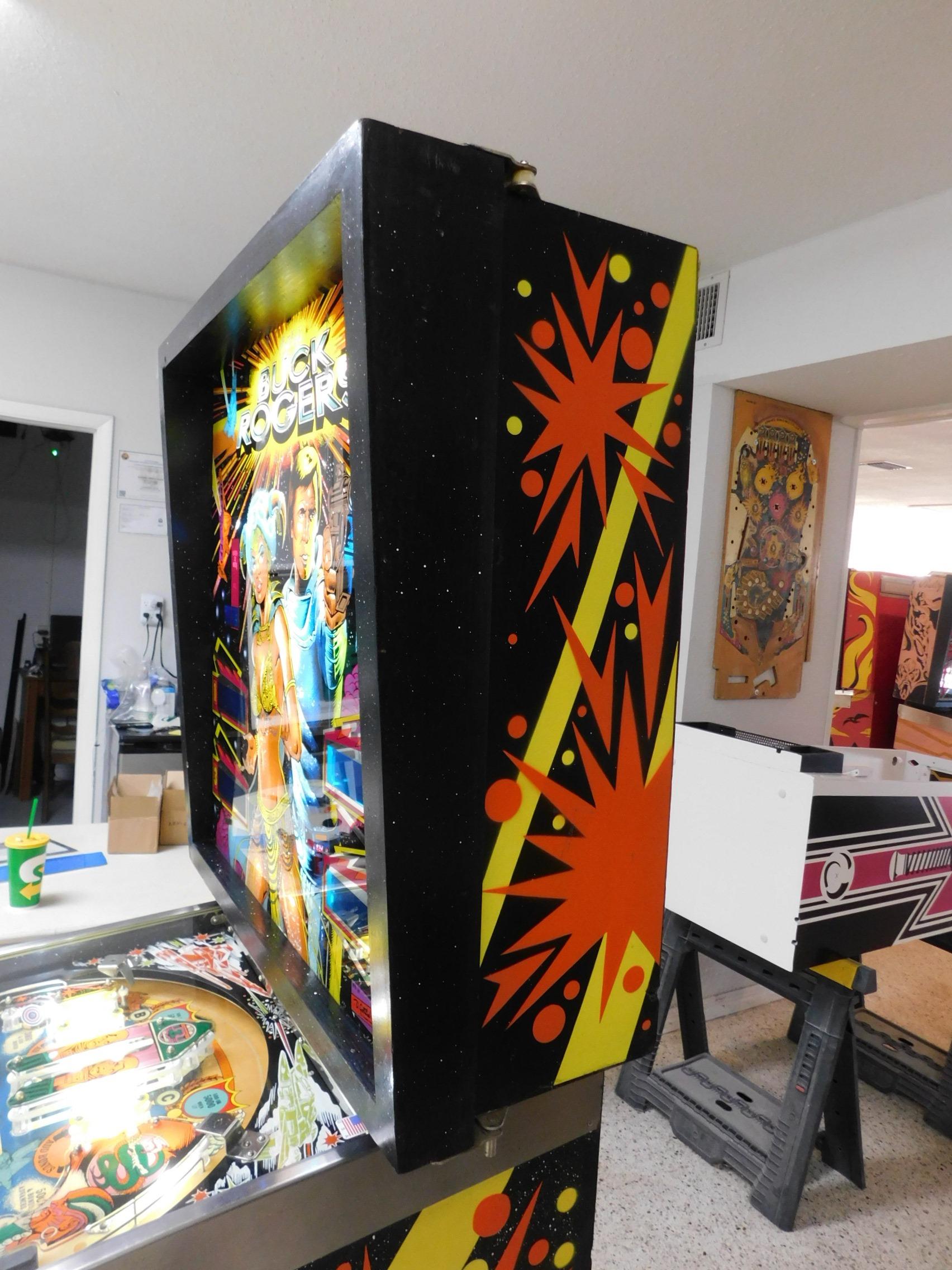 Pinball Restorations, Gottlieb Buck Rogers