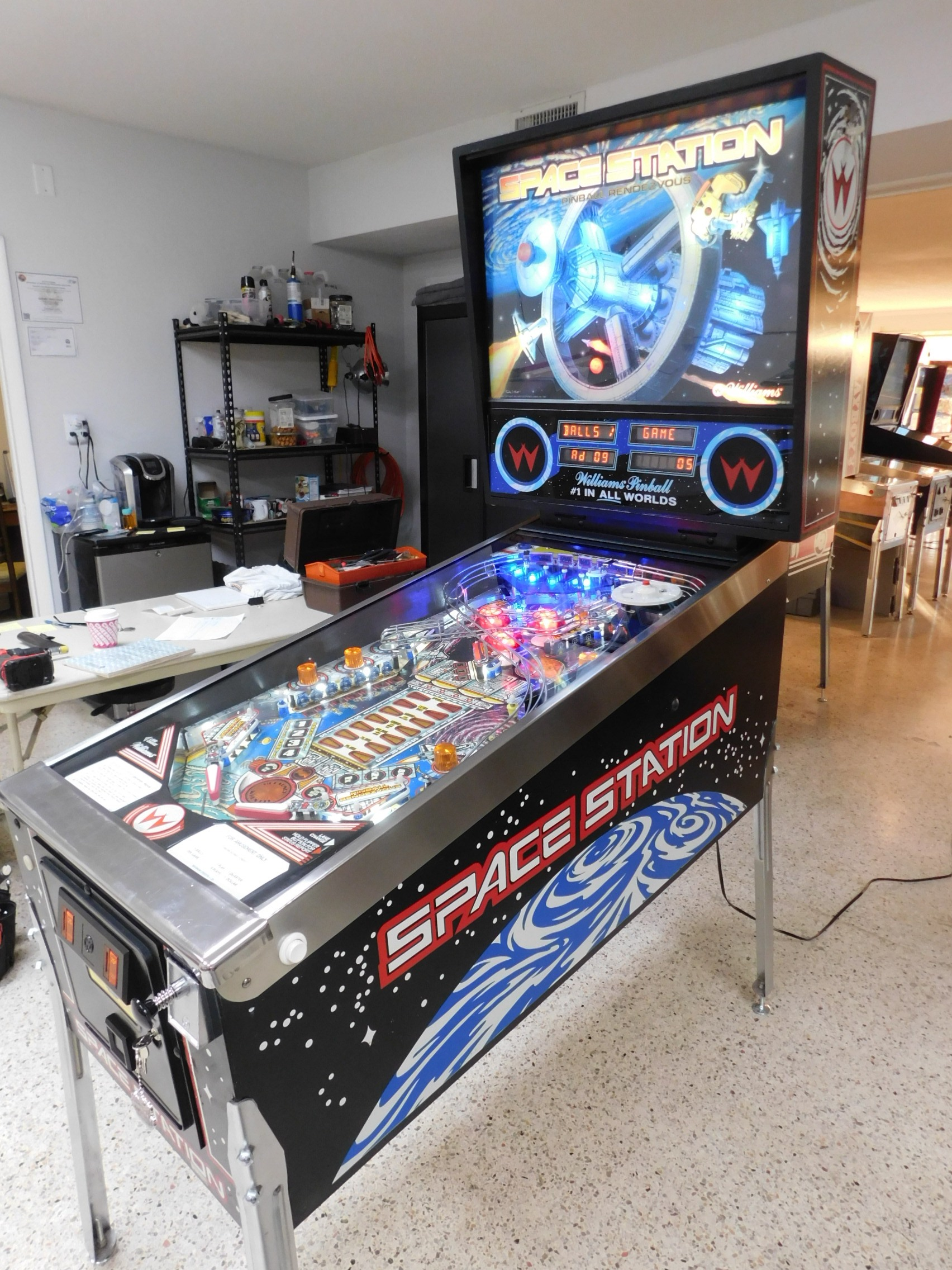 Pinball Restorations, Williams Space Station