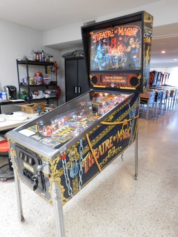 Pinball Restorations, Bally Theatre of Magic