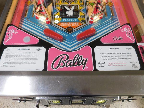 Pinball Restorations, Bally Playboy