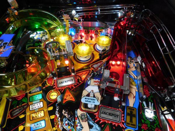 Pinball Restorations, Data East Guns 'N Roses