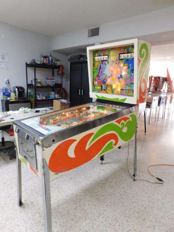 Pinball Restorations, Gottlieb Wild Life