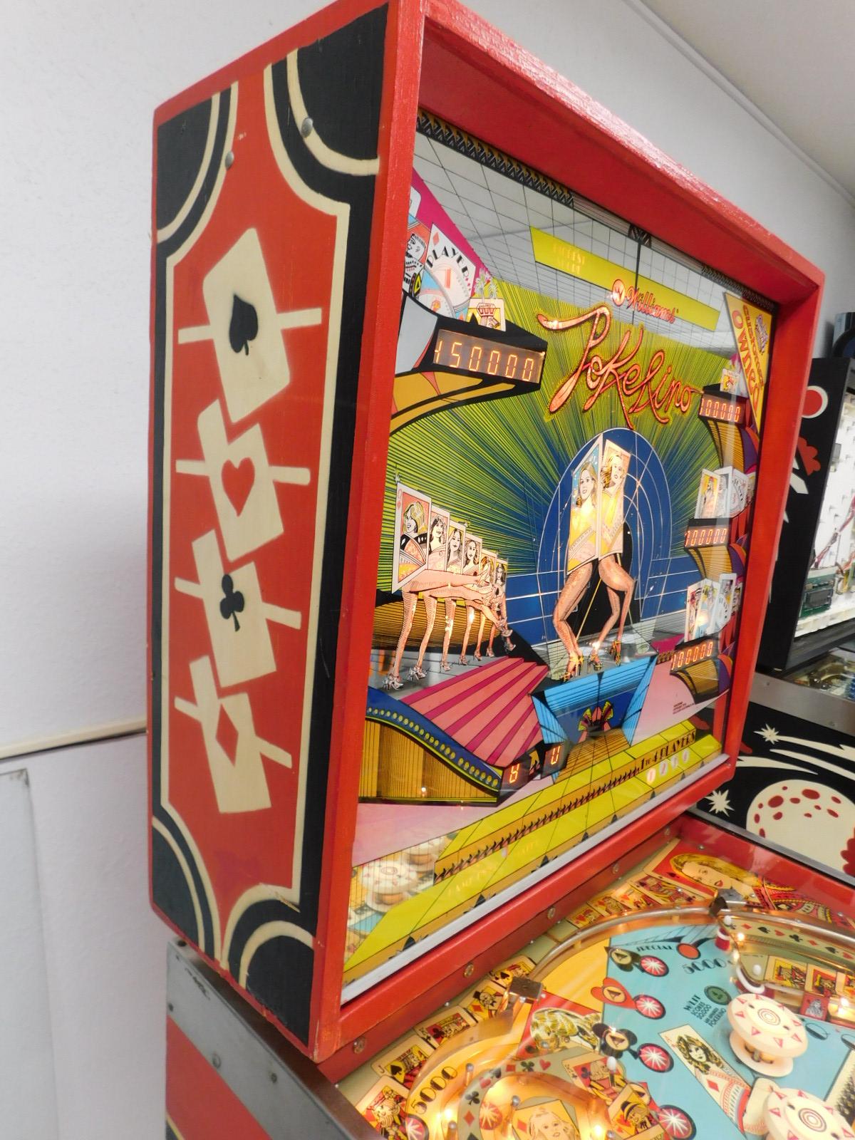Pinball Restorations, Williams Pokerino