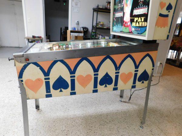 Pinball Restorations, Williams Pat Hand