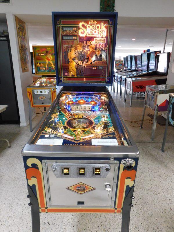 Pinball Restorations, Bally Speakeasy